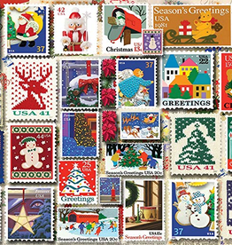 White Mountain Puzzle Christmas Stamps