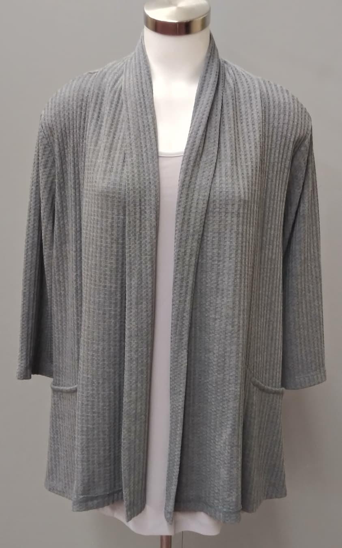 Grey Heather Long Sleeve Sweater