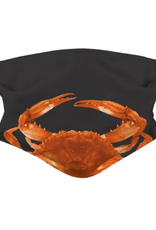 Realistic Red Crab Face Mask