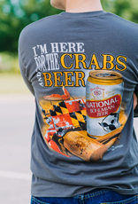 I'm Here for the Crabs & Beer / Long Sleeve Shirt