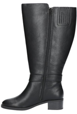 31-3252 Victoria Tall Shaft, Wide Calf, Black/Super Suede