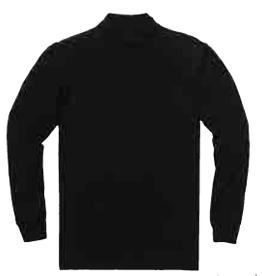 Pendleton Deschutes Mock Neck, Black, Small