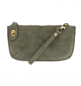 Joy Susan Lux Crossbody Wristlet - Fern