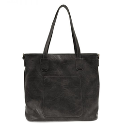 Joy Susan Terri Traveler Zip Tote - Black