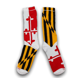 Maryland Flag Crew Socks - Kids