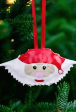 Santa Claws / Crab Shell Ornament