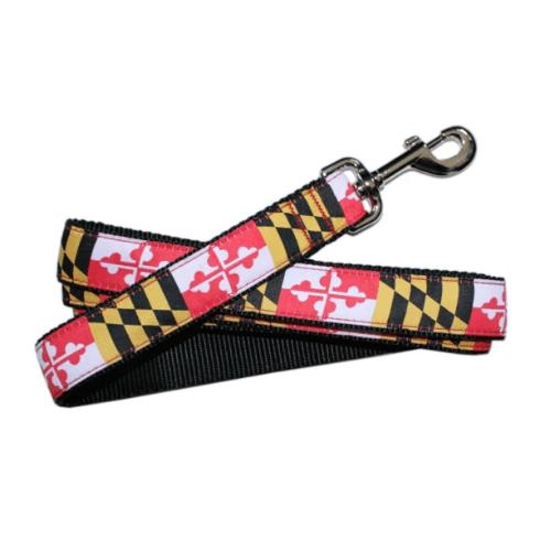 Maryland Flag Dog Leash