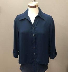 N TOUCH 3/4 Slv Khatie Layered Blouse