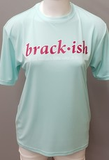 Brackish Life Performance UV S/S Seafoam/Pink