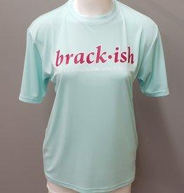 Brackish Life Performance UV S/S Seafoam/Pink
