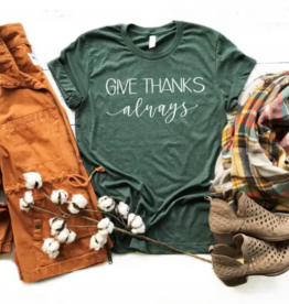 FAMS design Give Thanks Fall Tee