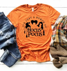 FAMS design Hocus Pocus Witches Fall Halloween Tee