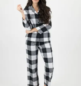 Leveret Womens Flannel Plaid Pajamas