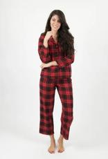 Leveret Womens Flannel Plaid Pajamas