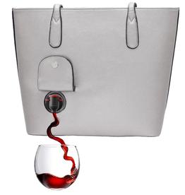 Porto Vino Classic Wine Purse - Grey