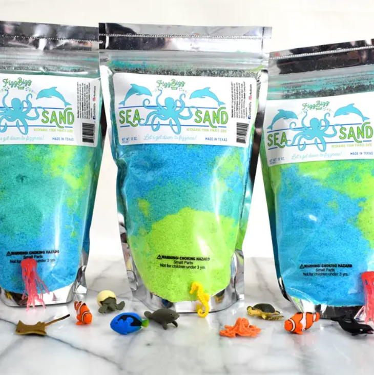 Fizz Bizz LLC Sea Sand - Kids Bath Salts