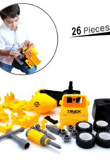 MukikiM Mixer - Take-Apart-Put-Together/2-Toys-In-1 Truck Toy