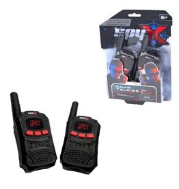 MukikiM SpyX Spy Walkie Talkie - Small Hand Size For 2 Players