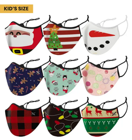 The American Gift Company Kid's Christmas Cloth Face Mask Asst'd