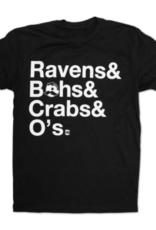 Ravens & Bohs & Crabs & O's