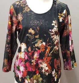 Parsley & Sage Floral Print Tee