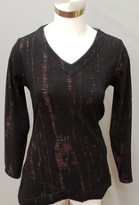Parsley & Sage Black Multi Reversible Tunic