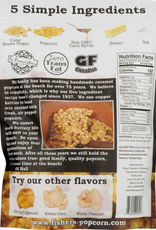 Fisher's Popcorn Small Pouch Caramel 2oz