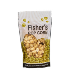 Fisher's Popcorn Small Pouch White Cheddar 0.5oz