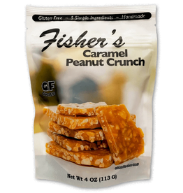 Fisher's Popcorn Caramel Peanut Crunch 4oz