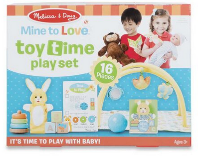Melissa & Doug Mine to Love Toy Time Play Set