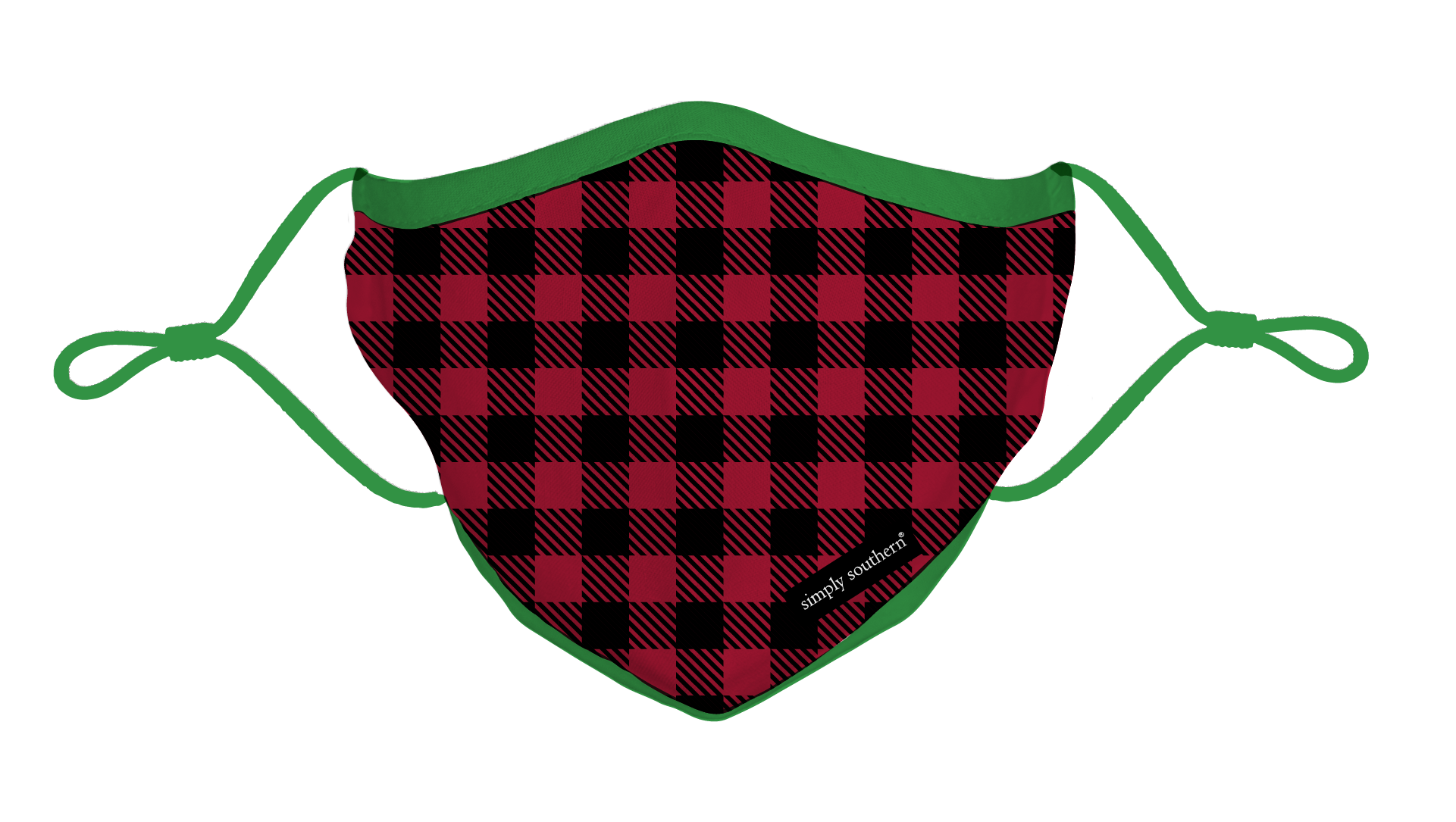 Simply Southern Mask-Adult-Gingham