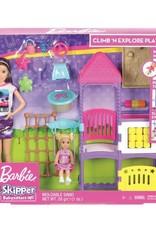 Mattel Barbie Skipper Babysitters Inc. Doll & Playset