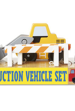 Melissa & Doug Construction Vehicle Set