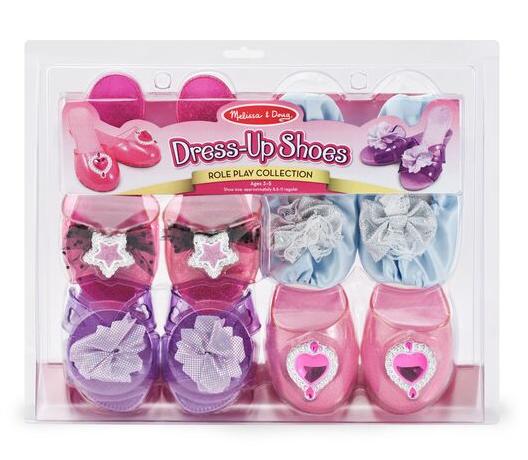 Melissa & Doug Dress-Up Shoes