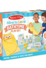 Melissa & Doug Mine to Love Changing and Bathtime play set