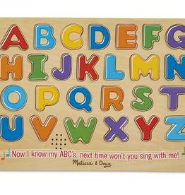 Melissa & Doug Sound Puzzle- Alphabet