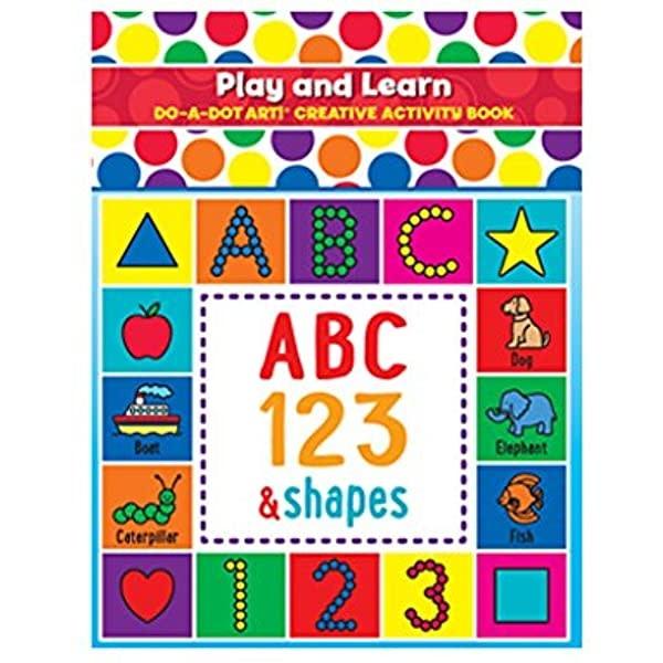 D-A-DOT ART PLAY & LEARN ACTIVITY BOOK