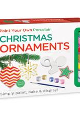Mindware Paint Your Own Porcelain Christmas Ornaments