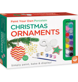 Mindware Paint Your Own Porcelain Christmas Ornaments