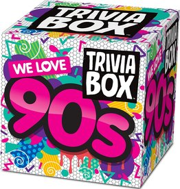 Imagination Card Games Trivia Box - We Love the 90s