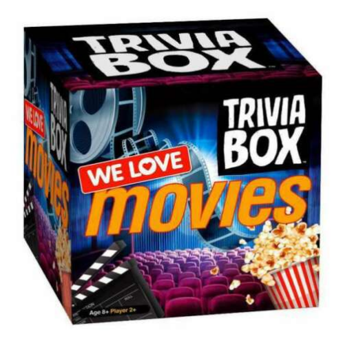 Imagination Card Games Trivia Box - Movie Trivia