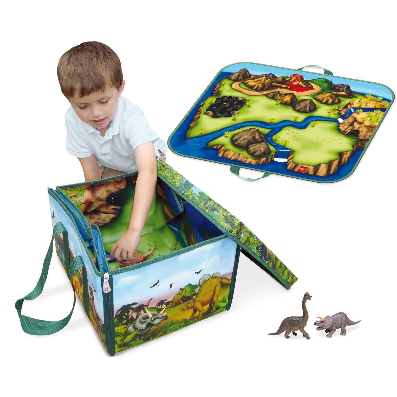 ZipBin ZipBin Dinosaur Collector Toy Box