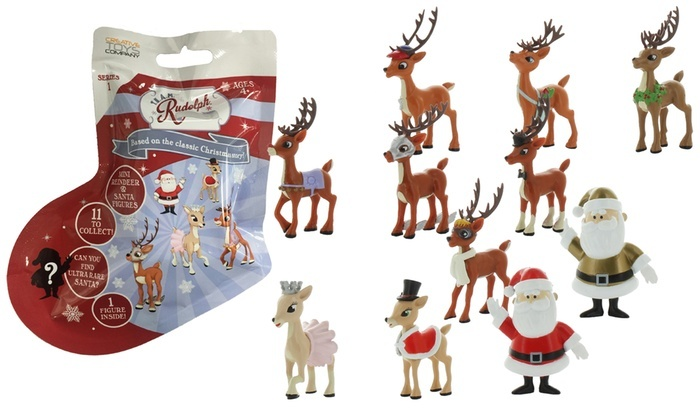 Creative Toys TEAM Rudolph Mini Figures Asstd