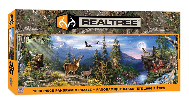 MasterPieces Real Tree 1000 PC Puzzle