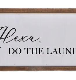 Driftless Studios Alexa, Do The Laundry 12X6