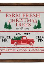 Driftless Studios Christmas Truck 10X10