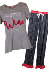 Simply Southern Pajamas Wine