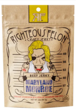 Righteous Felon Craft Jerky Maryland Monroe Beef Jerky