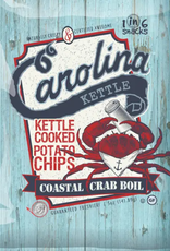 1 in 6 Snacks- Carolina Kettle chips- Rustic Roots 5oz Crab Boil Chips