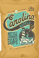 1 in 6 Snacks- Carolina Kettle chips- Rustic Roots 5oz Sea Salt Chips